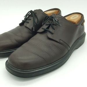 Mephisto Air Jet Oxford Shoes 9.5 Brown Mens